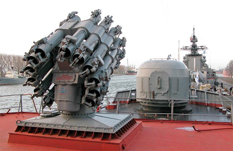 Реактивная бомбометная установка РБУ-6000 (Смерч-2)