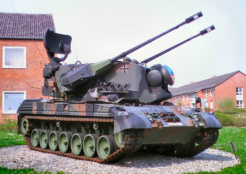 Зенитная самоходная установка ЗСУ «Гепард»