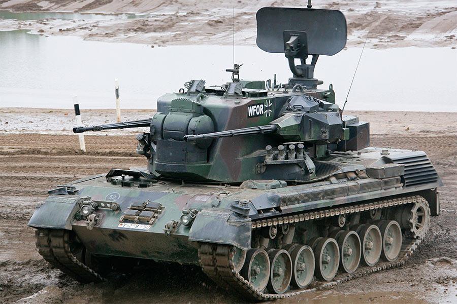 Зенитная самоходная установка ЗСУ «Гепард» (Германия)