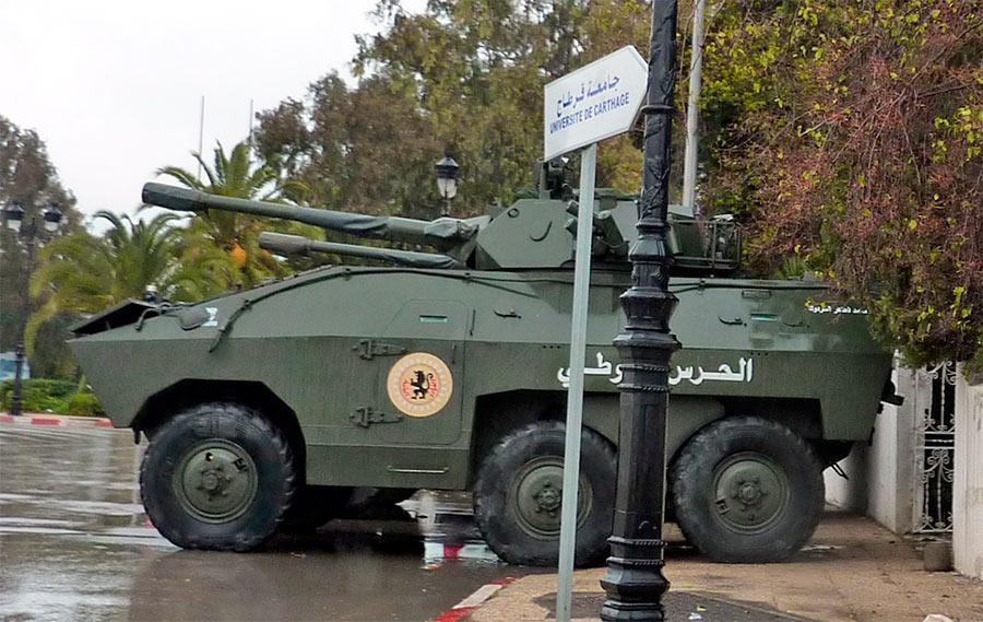 Обычный для Бразилии формат - колесный танк EE-11 «Уруту» AFSV