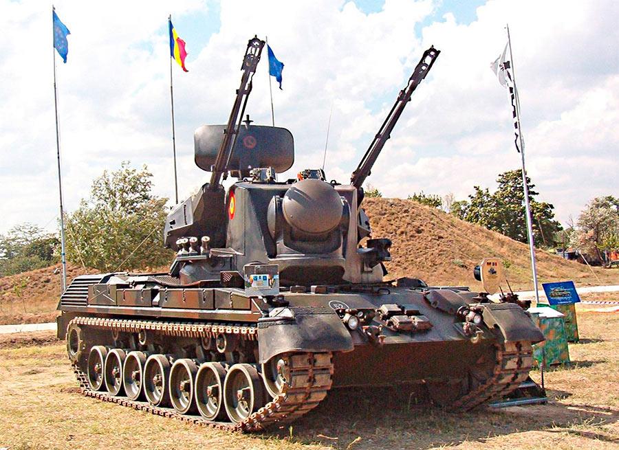 ЗСУ «Гепард» на базе танка Leopard I