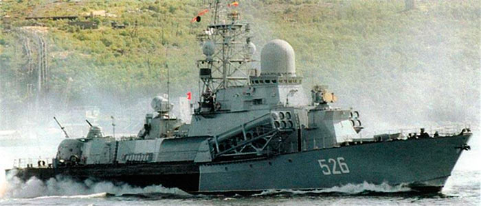 МРК «Накат» проекта 1234.7 с ракетами Оникс П-800