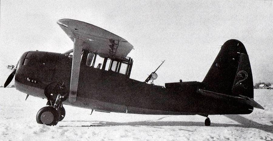 """Советский O-52 «Оул» с кабиной """"по боевому"""""""