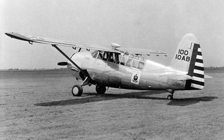 Кертис O-52 «Оул», сзади