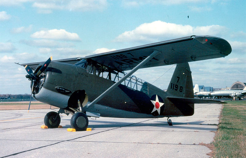 Ближний разведчик Кертисс O-52 «Оул» («Сова»)
