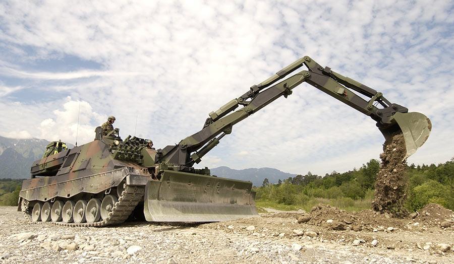 Саперный танк Pionierpanzer 1