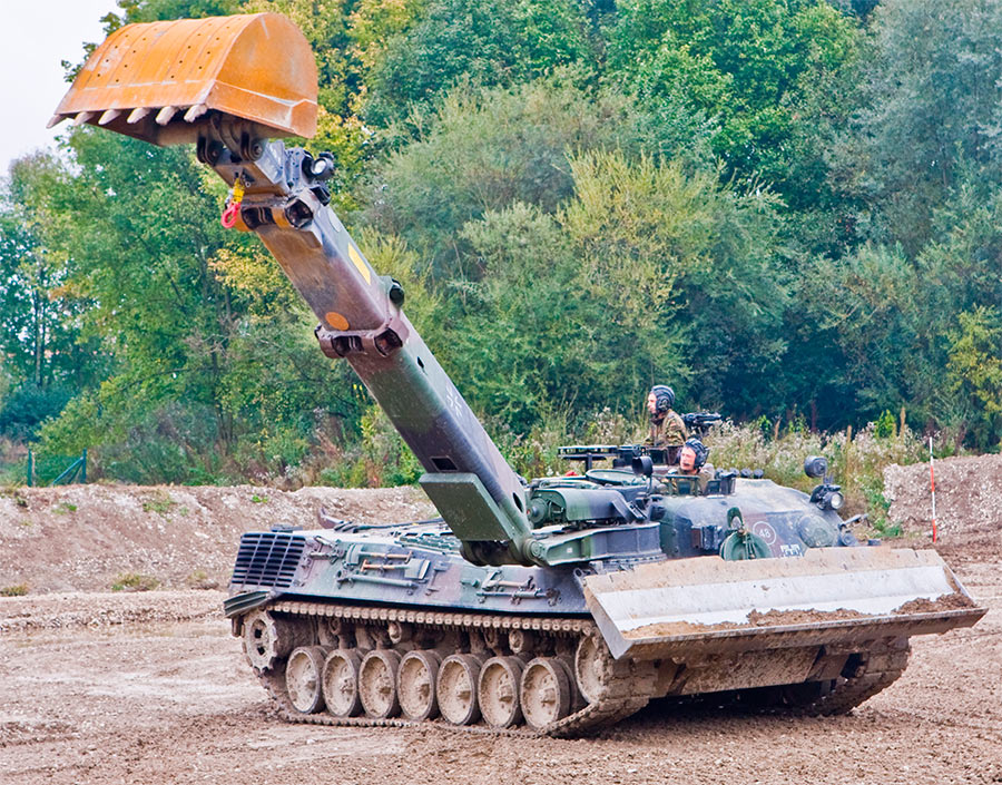Немецкий саперный танк «Барсук»