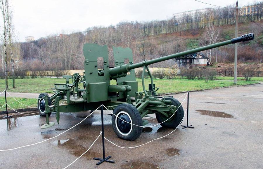 57-мм буксируемая зенитная автоматическая пушка С-60 обр. 1950 г.