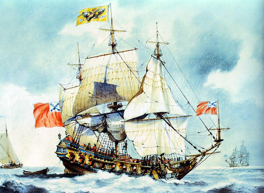 28-и пушечный корабль «Штандарт»