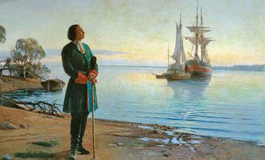 Названия русских кораблей петровских времен