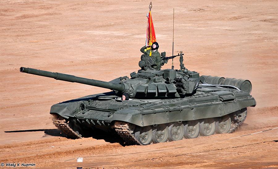 Основной боевой танк Т-72Б3
