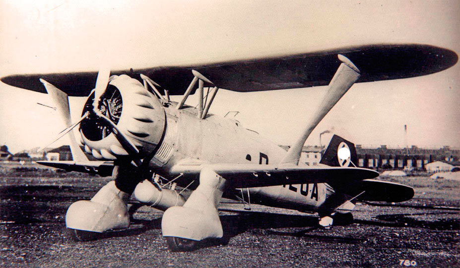 Пикирующий бомбардировщик Хеншель Hs.123 - первый германский пикировщик специальной постройки