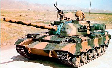 Основной танк Туре 88 (ZTZ88) (Китай)