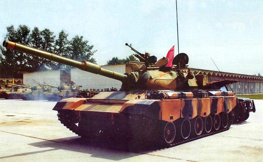 Китайский основной танк Type 88/80
