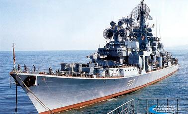 Большие противолодочные корабли проекта 1134Б