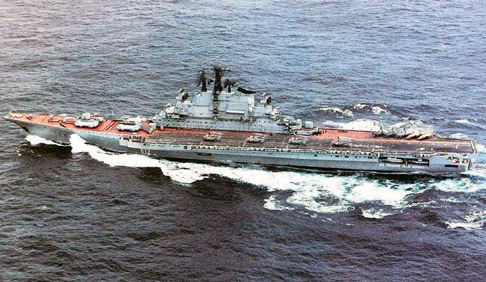 Тяжелые авианесущие крейсеры пр. 1143, 1143.2, 1143.3, 1143.4  («Кречет»)