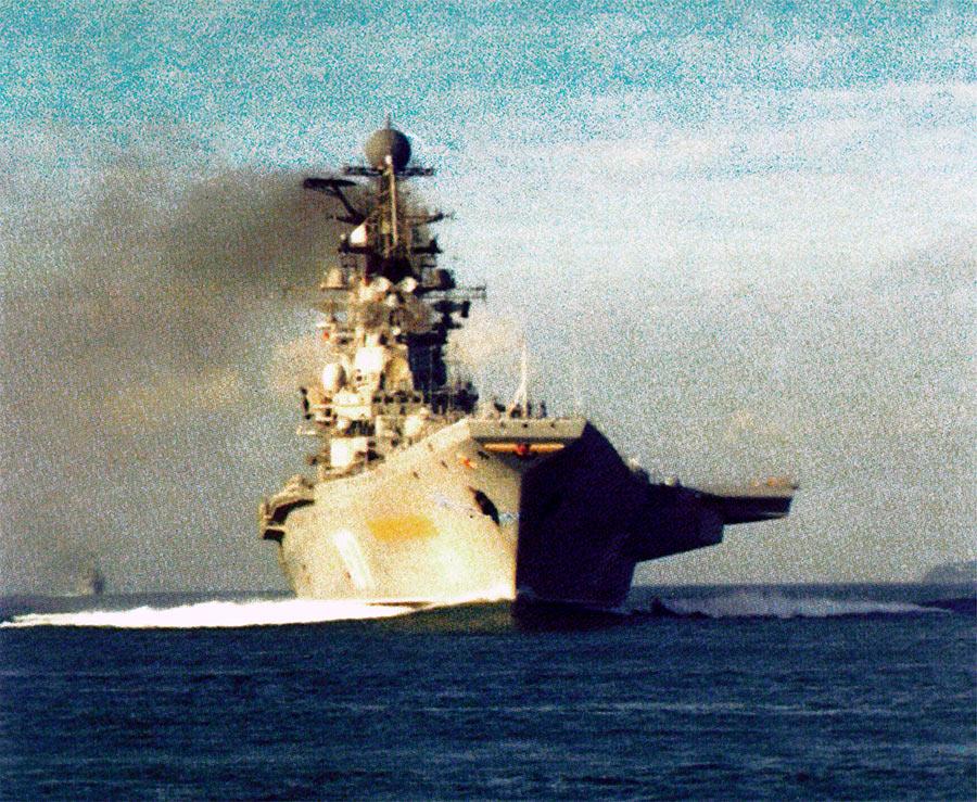 Советские авианосцы проекта 1143 «Кречет»