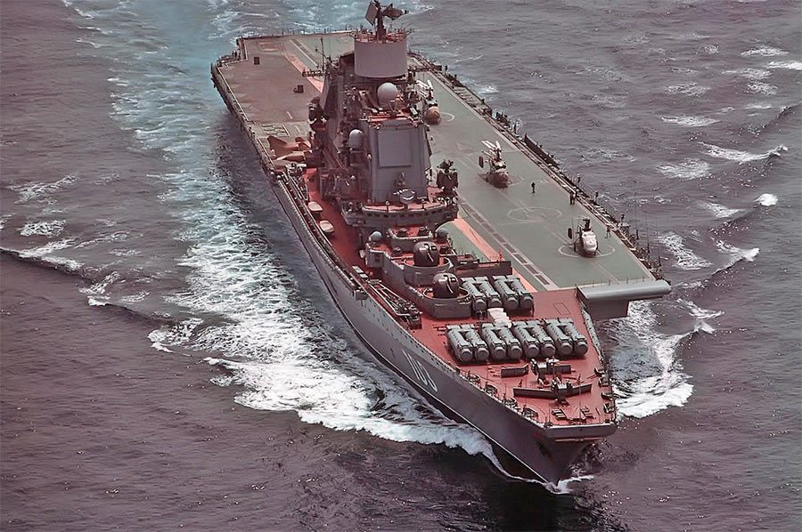 Тяжелый авианесущий крейсер «Адмирал Горшков» («Баку»)