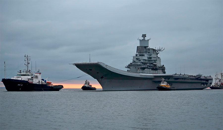 Авианосец «Викрамадитья» (бывший «Адмирал Горшков»)