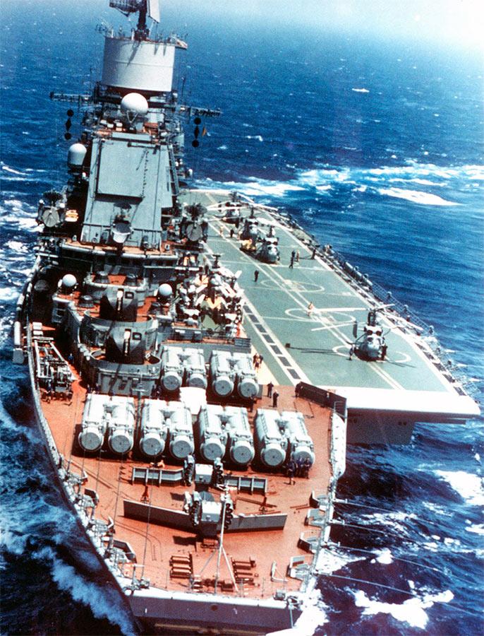«Адмирал Горшков», авианесущий крейсер проекта 11434