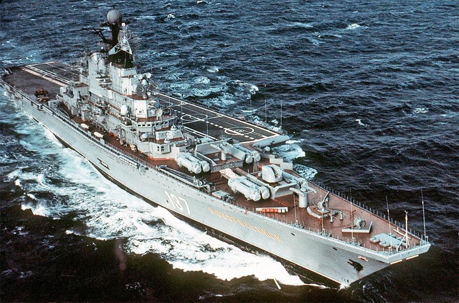 Тяжелый авианесущий крейсер проекта 11433 «Новороссийск»