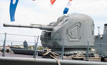 Корабельная автоматическая установка АК-176