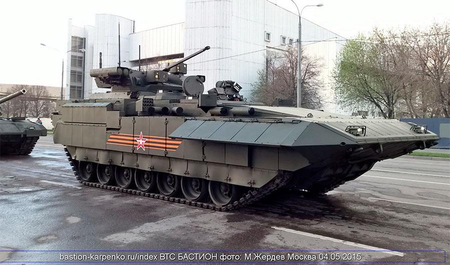 Боевая машина пехоты Т-15 на базе танка «Армата»