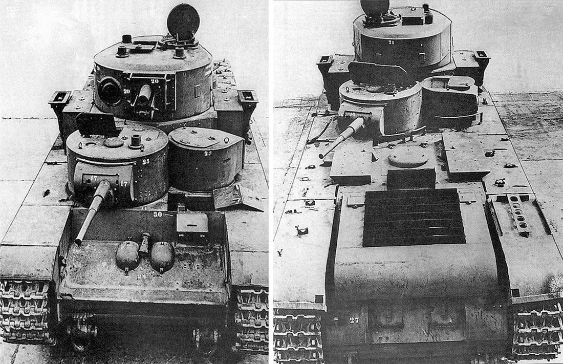 Тот же Т-35 в немецком Куммерсдорфе. Его регистрационный номер 715-62