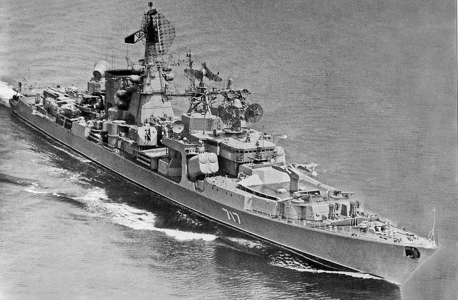 Большой противолодочный корабль проекта 1134Б «Азов»