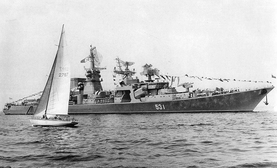 Большой противолодочный корабль проекта 1134Б «Таллин»