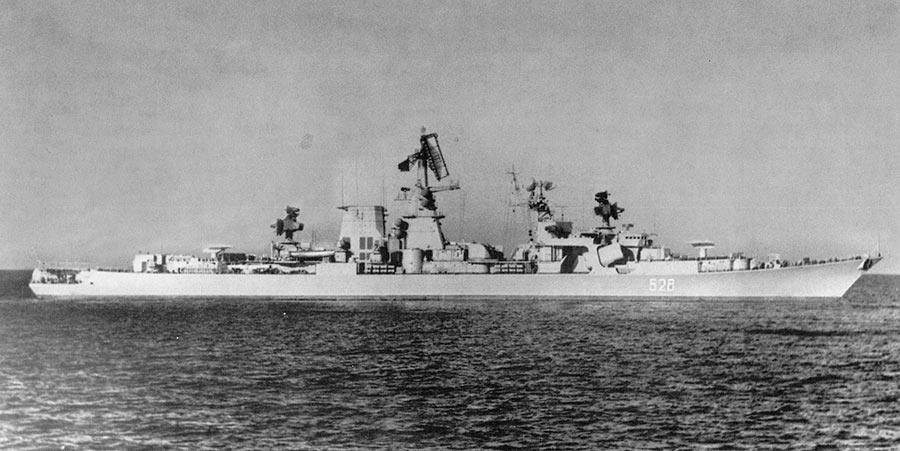 Большой противолодочный корабль проекта 1134Б «Ташкент»