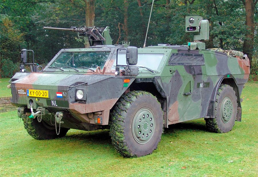 Немецко-голландский бронеавтомобиль «Fennek»