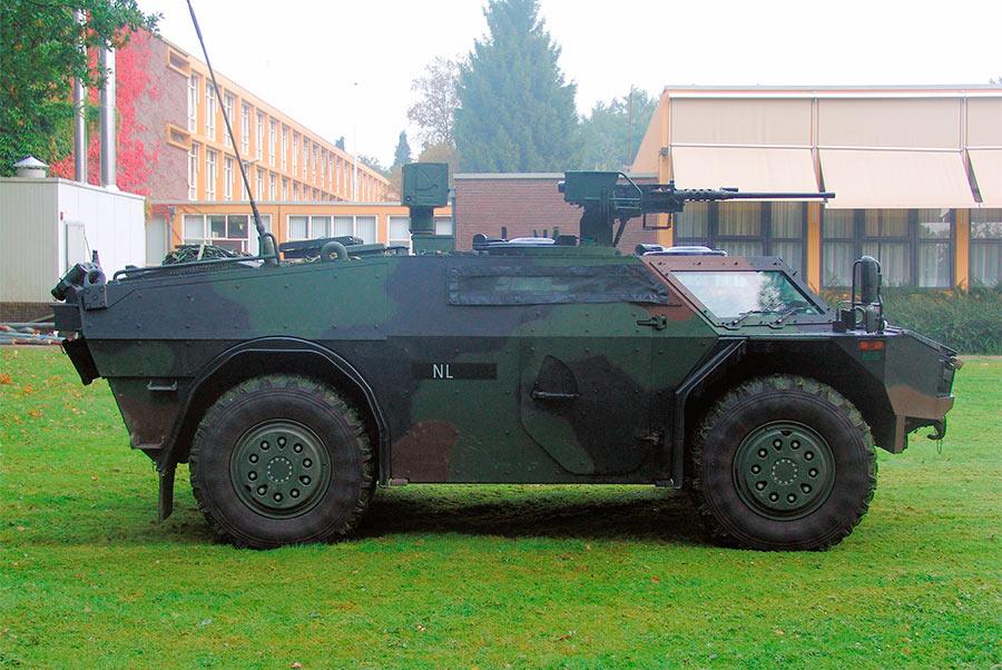Разведывательный бронеавтомобиль «Fennek»