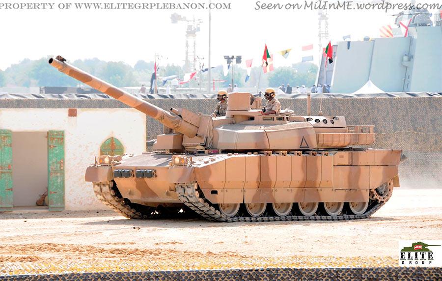 Танк АМХ-56 «Леклерк» в пустынном камуфляже