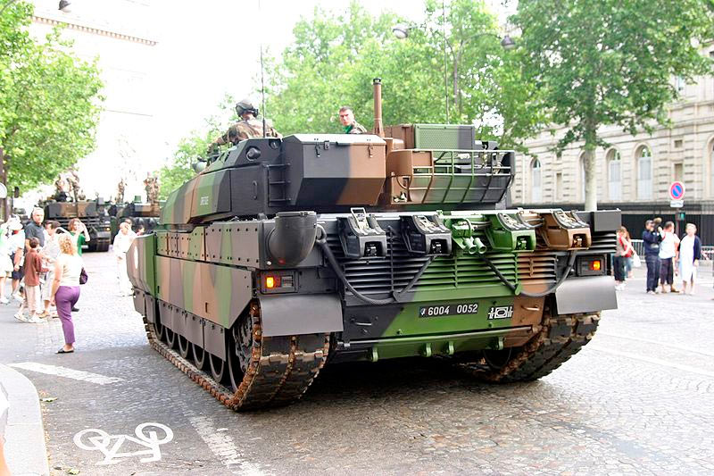 АМХ-56 «Леклерк», вид сзади