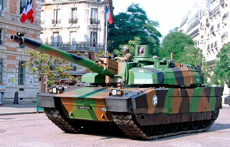 Основной боевой танк АМХ-56 Leclerc (Франция)