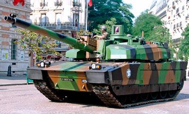 Основной боевой танк АМХ-56 Leclerc