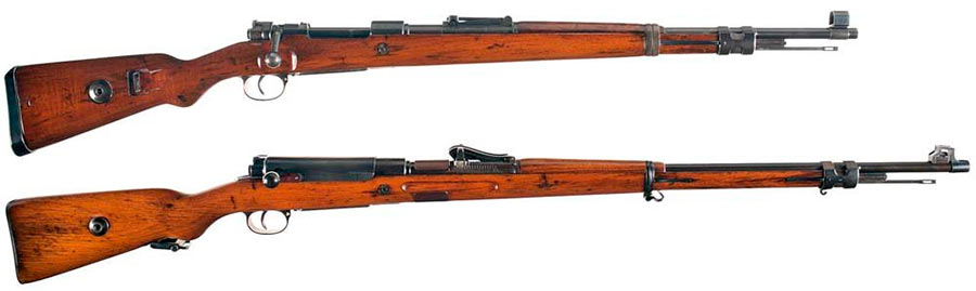 Винтовки Mauser 98 и Mauser 98к