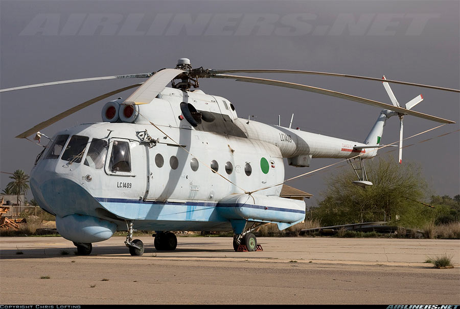 Самый «экзотичный» вариант Ми-8. Вертолет-амфибия Ми-14