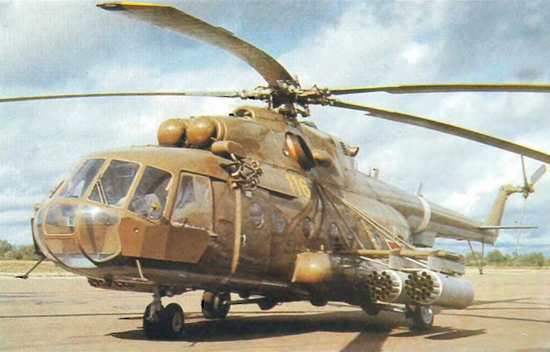 Модернизированный вариант армейского Ми-8, Ми-17
