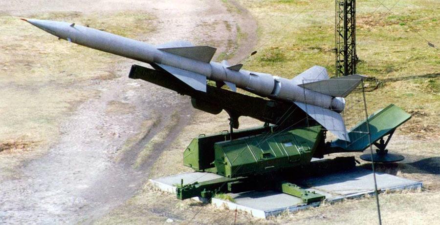 Пусковая установка зенитной ракеты С-75 «Волхов»