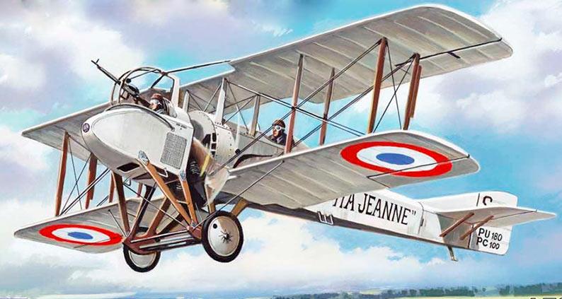 Военный самолет SPAD SA.1/SA.2/SA.4 (Франция)