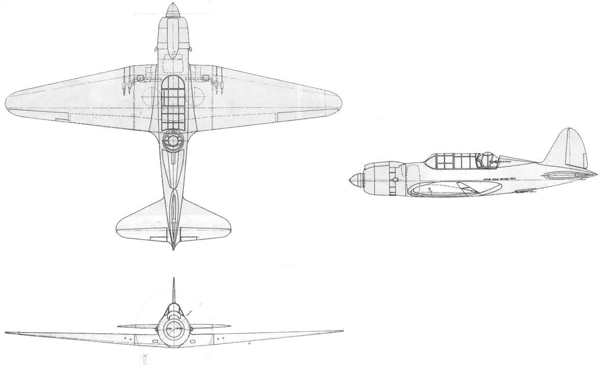 Чертеж ближнего бомбардировщика Су-2