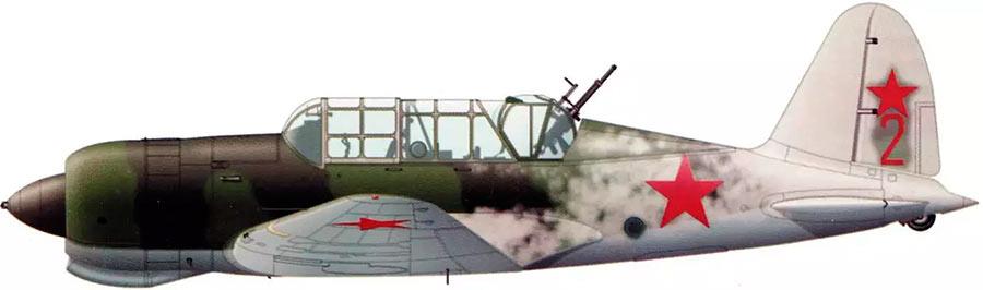 Серийный Су-2 со штатной турелью стрелка