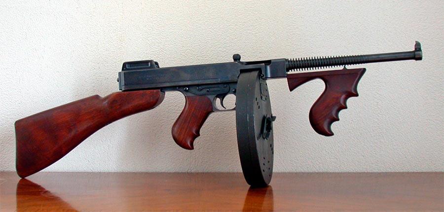 фото пулемет томпсона