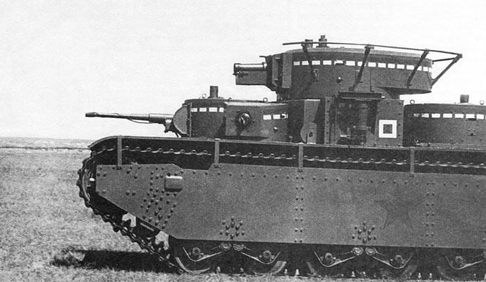 Фотографии тяжелого танка Т-35