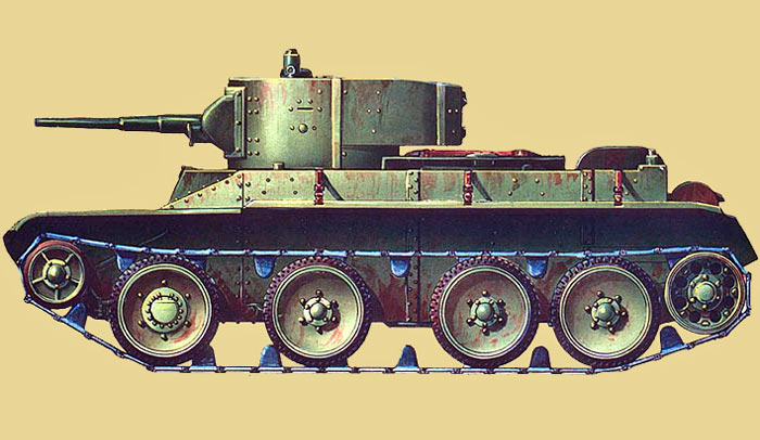 Быстроходный танк БТ-5