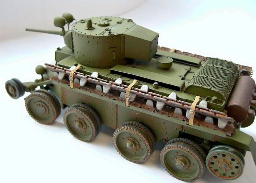 Танк БТ-5 с башней мариупольского завода