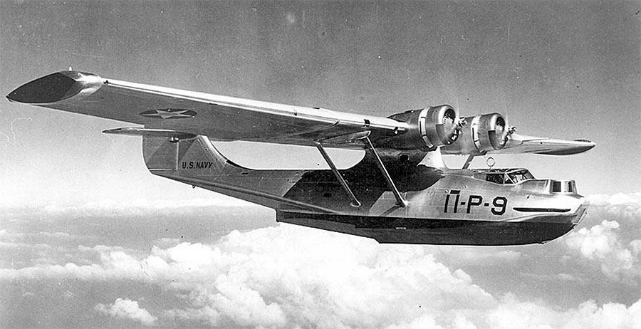 Гидросамолет PBY «Каталина» ранних выпусков