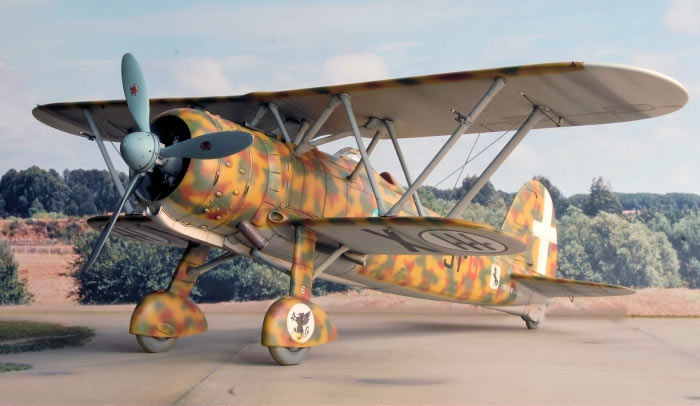 Истребитель Fiat CR.42 «Falco»